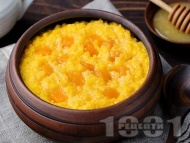 Закуска от просо със сладък картоф